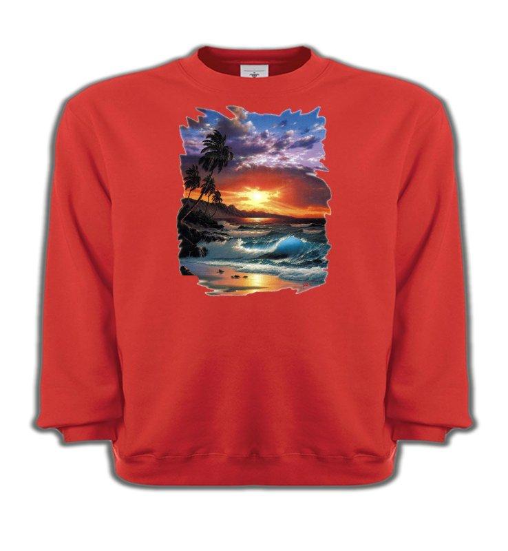 Sweatshirts EnfantsNature et paysagesCoucher de soleil à la plage (S)