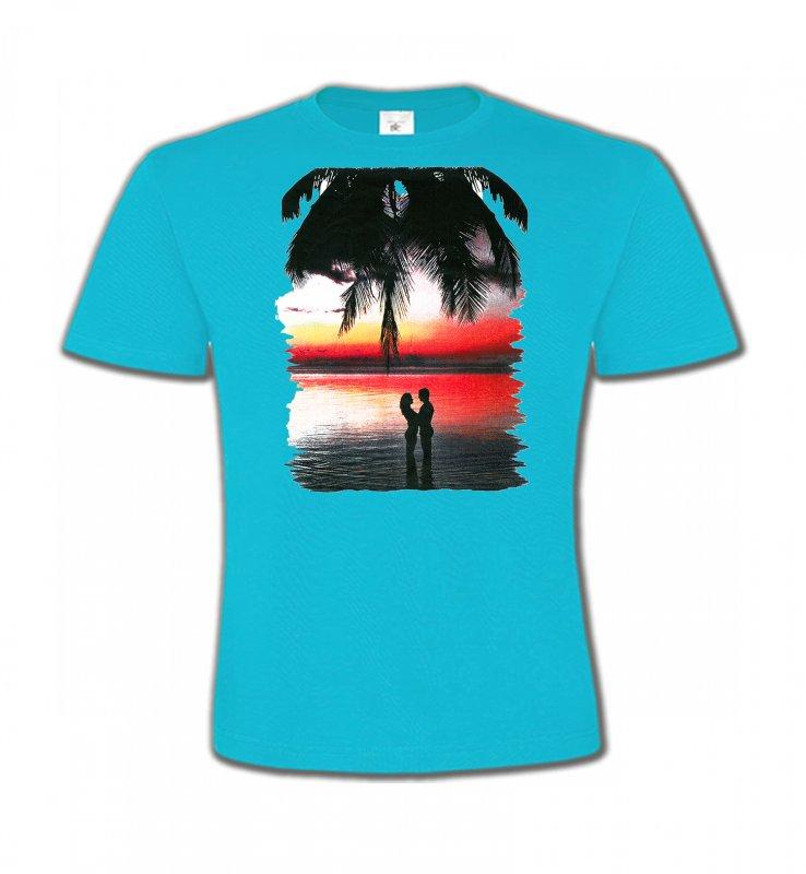 T-Shirts Col Rond EnfantsNature et paysagesCoucher de soleil