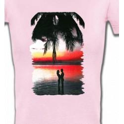 T-Shirts Nature et paysages Coucher de soleil