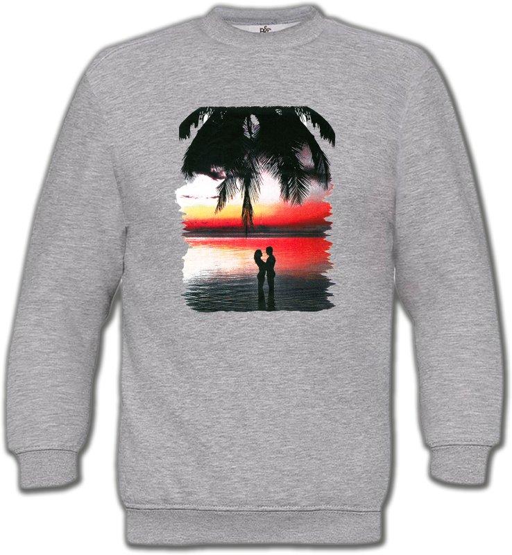 Sweatshirts UnisexeNature et paysagesCoucher de soleil