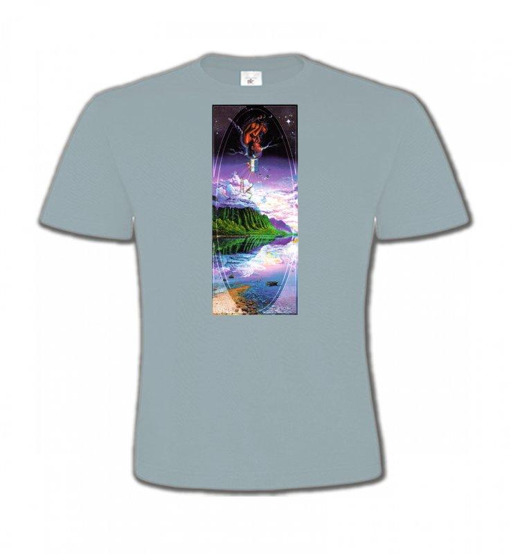 T-Shirts Col Rond EnfantsNature et paysagesPsychédélique