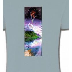 T-Shirts Nature et paysages Psychédélique