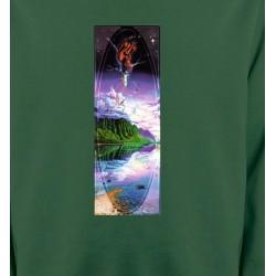 Sweatshirts Nature et paysages Psychédélique