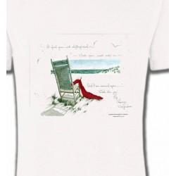 T-Shirts Nature et paysages Chaise à la plage