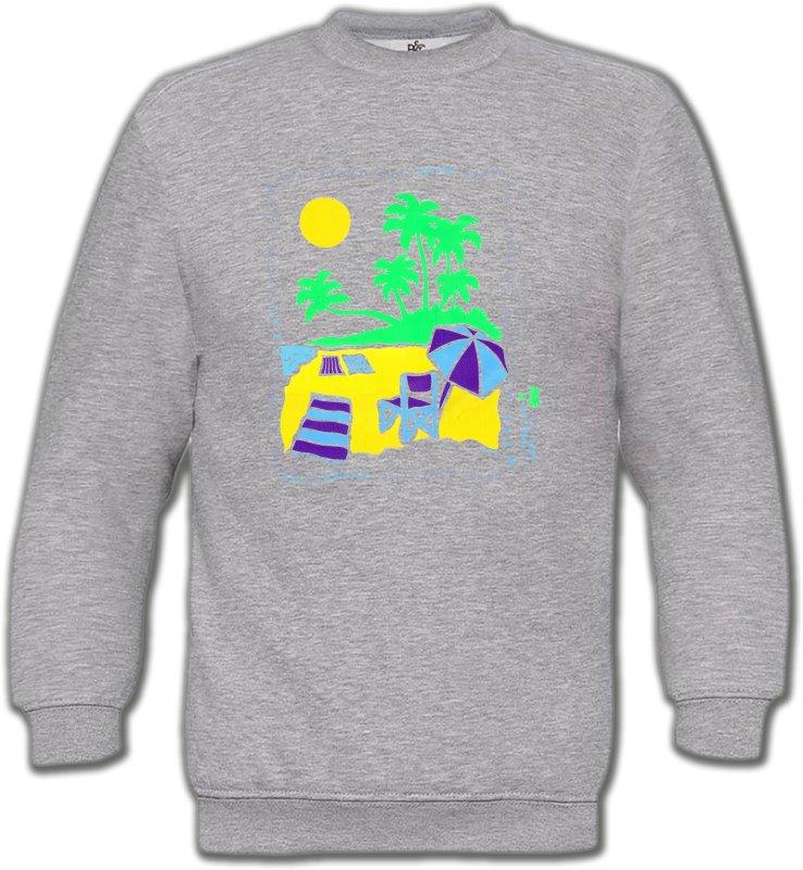 Sweatshirts UnisexeNature et paysagesPlage dessin