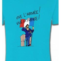 T-Shirts Politique et croyances ancien combattant  Vive la France  (C)