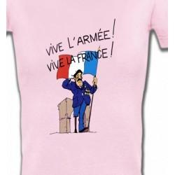 T-Shirts Humour/amour ancien combattant  Vive la France  (C)