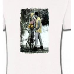 T-Shirts Fleurs/Romantique Couple Romantisme