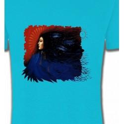 T-Shirts T-Shirts Col Rond Enfants Indienne (I)