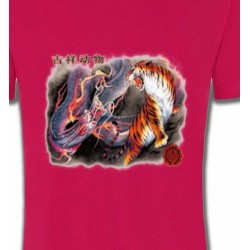 T-Shirts Dragons Dragon et Tigre (U4)