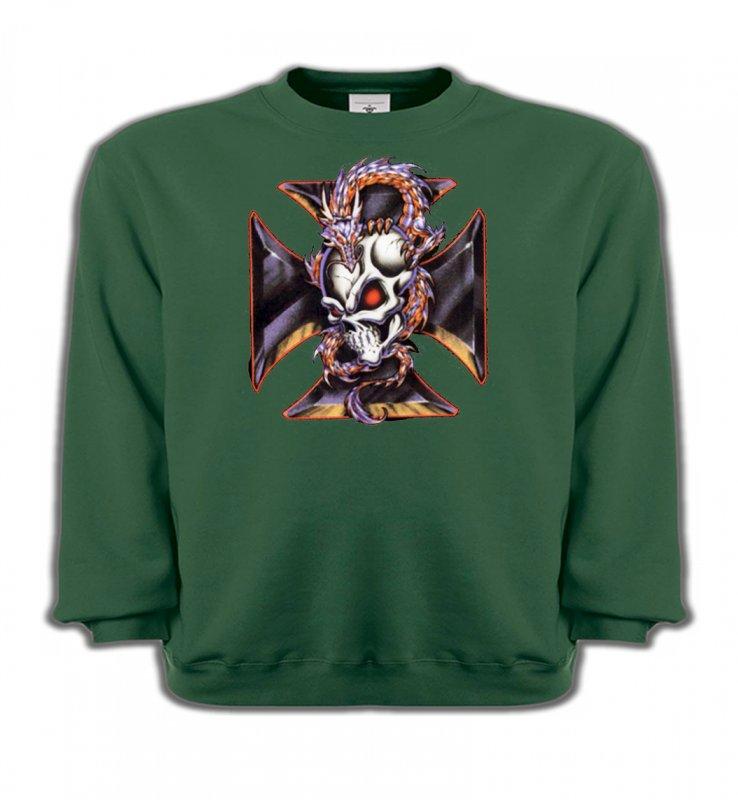 Sweatshirts EnfantsDragonsDragons et Croix de Choppers (Z2)