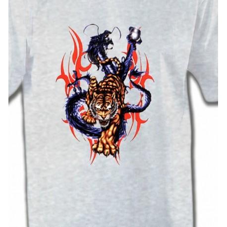 Dragon bleu et Tigre (E4)