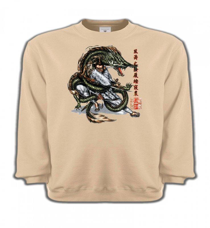 Sweatshirts EnfantsSignes astrologiquesDragon et Samouraï (V3)
