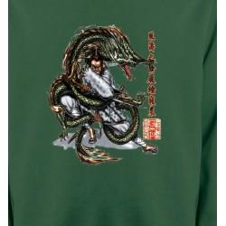 Sweatshirts Signes astrologiques Dragon et Samouraï (V3)