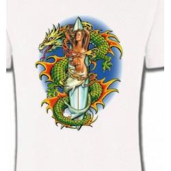 T-Shirts Dragons Dragon vert (X3)
