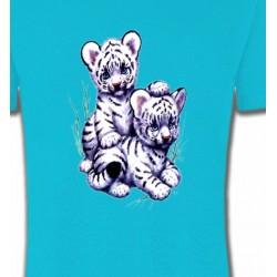T-Shirts Enfants Bébés tigres blancs (I3)