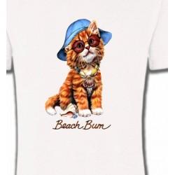 T-Shirts Enfants Chaton tigré roux  (W)