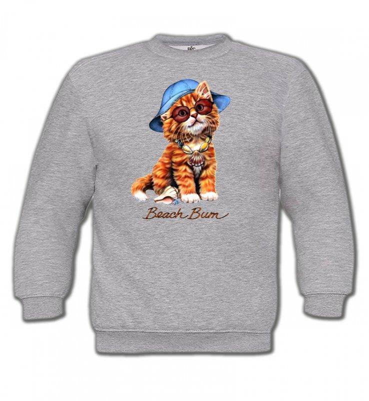 Sweatshirts EnfantsRaces de chatsChaton tigré roux  (W)