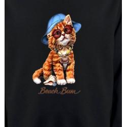 Sweatshirts Races de chats Chaton tigré roux  (W)