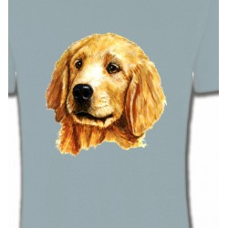 T-Shirts Enfants Tête de Golden Retriever (IAG)