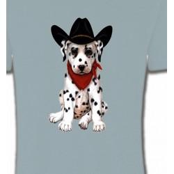 T-Shirts Enfants Bébé Dalmatien Cow-Boy  (I)