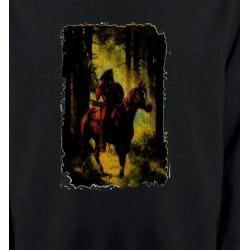 Sweatshirts Sweatshirts Unisexe Indien dans la forêt (L)