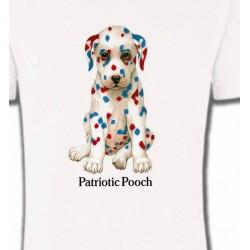 T-Shirts Enfants Dalmatien Patriotique  (J)