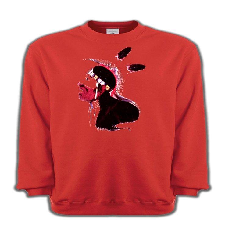 Sweatshirts EnfantsIndien et AmérindiensIndien peau-rouge (G)