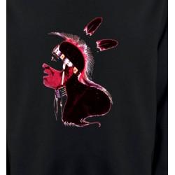 Sweatshirts Sweatshirts Unisexe Indien peau-rouge (G)