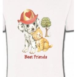 T-Shirts Enfants Chiot et chaton  (I)