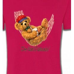 T-Shirts Enfants Teddy Bear dans hamac (H)
