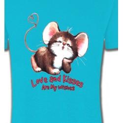 T-Shirts Enfants Petite souris (A3)