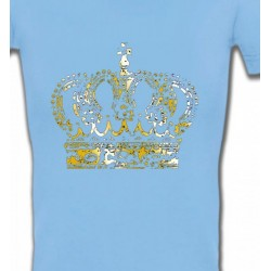 T-Shirts Strass & Paillettes Strass Couronne 2
