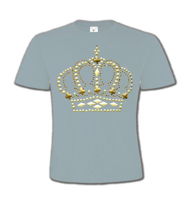 T-Shirts Col Rond EnfantsStrass & PaillettesStrass Couronne 3