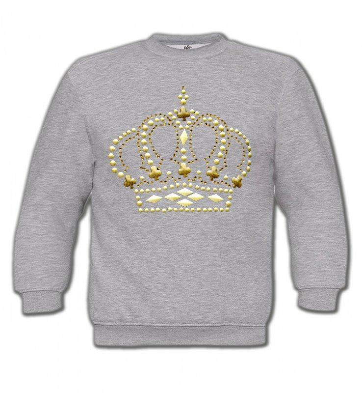 Sweatshirts EnfantsStrass & PaillettesStrass Couronne 3