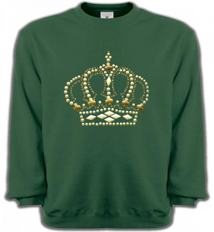 Sweatshirts UnisexeStrass & PaillettesStrass Couronne 3