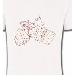 Strass feuilles d'arbre