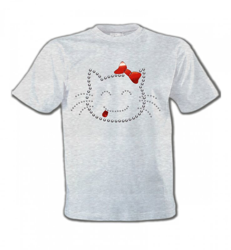 T-Shirts Col Rond EnfantsRaces de chatsHello Kitty