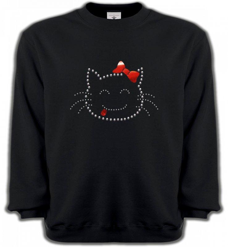 Sweatshirts UnisexeRaces de chatsHello Kitty