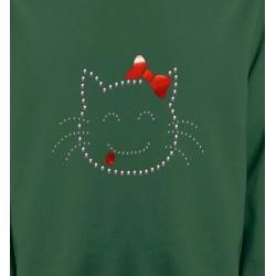 Sweatshirts Strass & Paillettes Hello Kitty