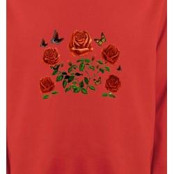 Sweatshirts Fêtes et occasions Roses rouges