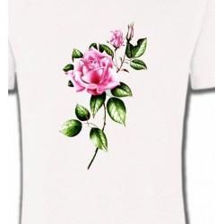 T-Shirts Fleurs/Romantique Rose