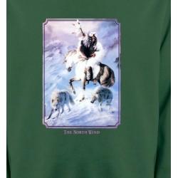 Sweatshirts Sweatshirts Enfants Indien et loup (P2)