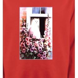 Sweatshirts Fêtes et occasions Chat à la fenêtre