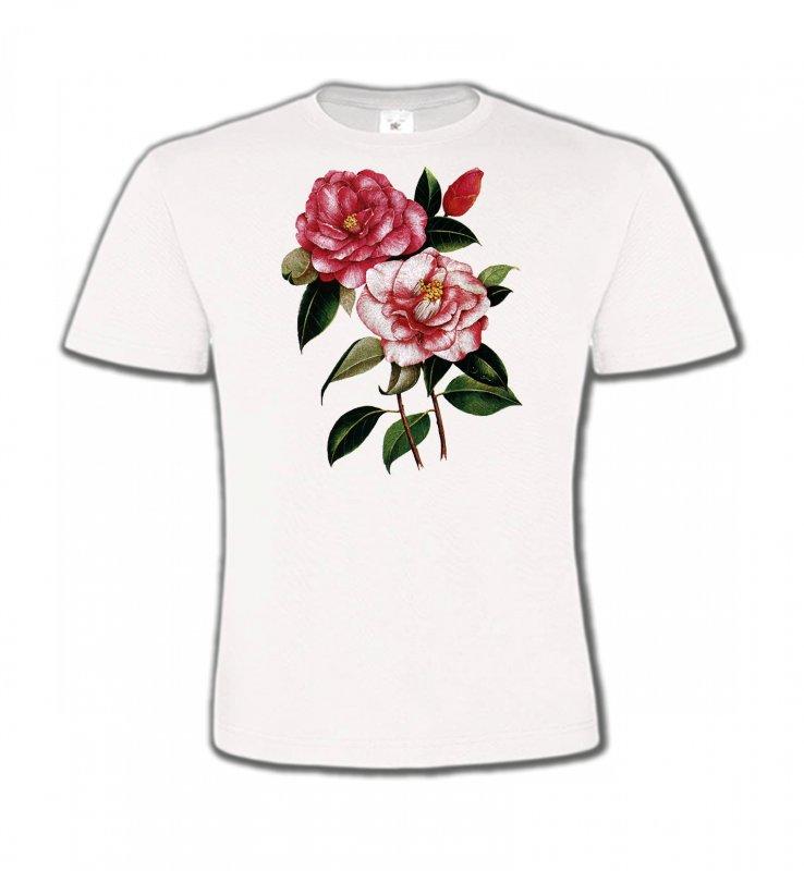 T-Shirts Col Rond EnfantsFleurs/RomantiqueRoses