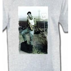 T-Shirts Musique Saxophoniste