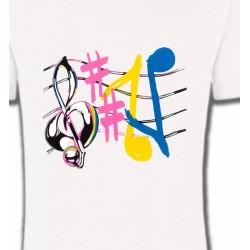 T-Shirts Musique Notes de musique