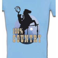 T-Shirts Cheval western country chevaux cowboy