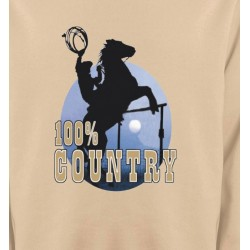 Sweatshirts Cheval western country chevaux cowboy
