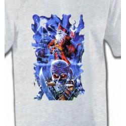 T-Shirts Tribal Métal Celtique Tête de mort et pirate